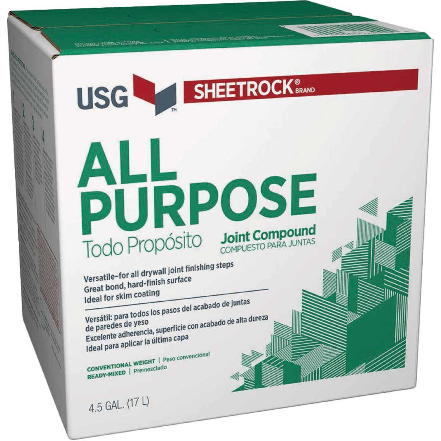 Sheetrock 4.5 Gal. Ready-Mixed All-Purpose Joint Compound Image 1