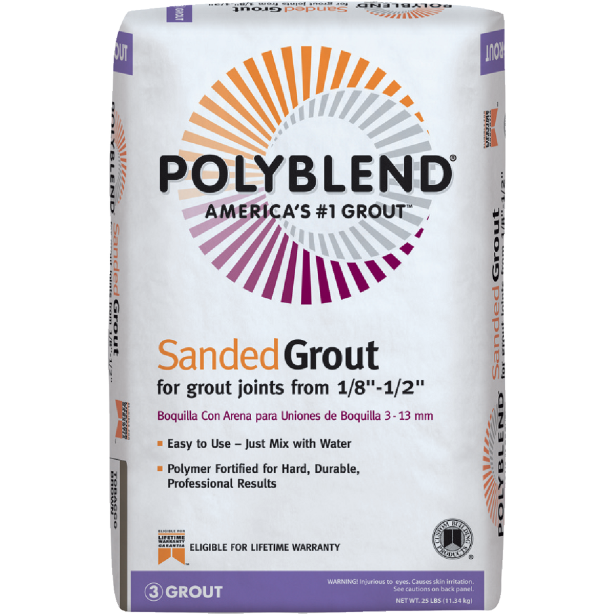 Polyblend 7Lb New Taup Sandd Grout