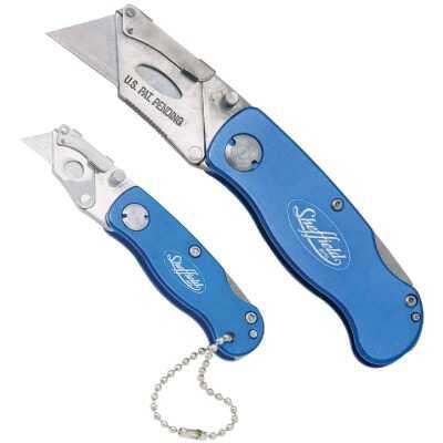 Sheffield Lockback Fixed Folding Utility Knife Set