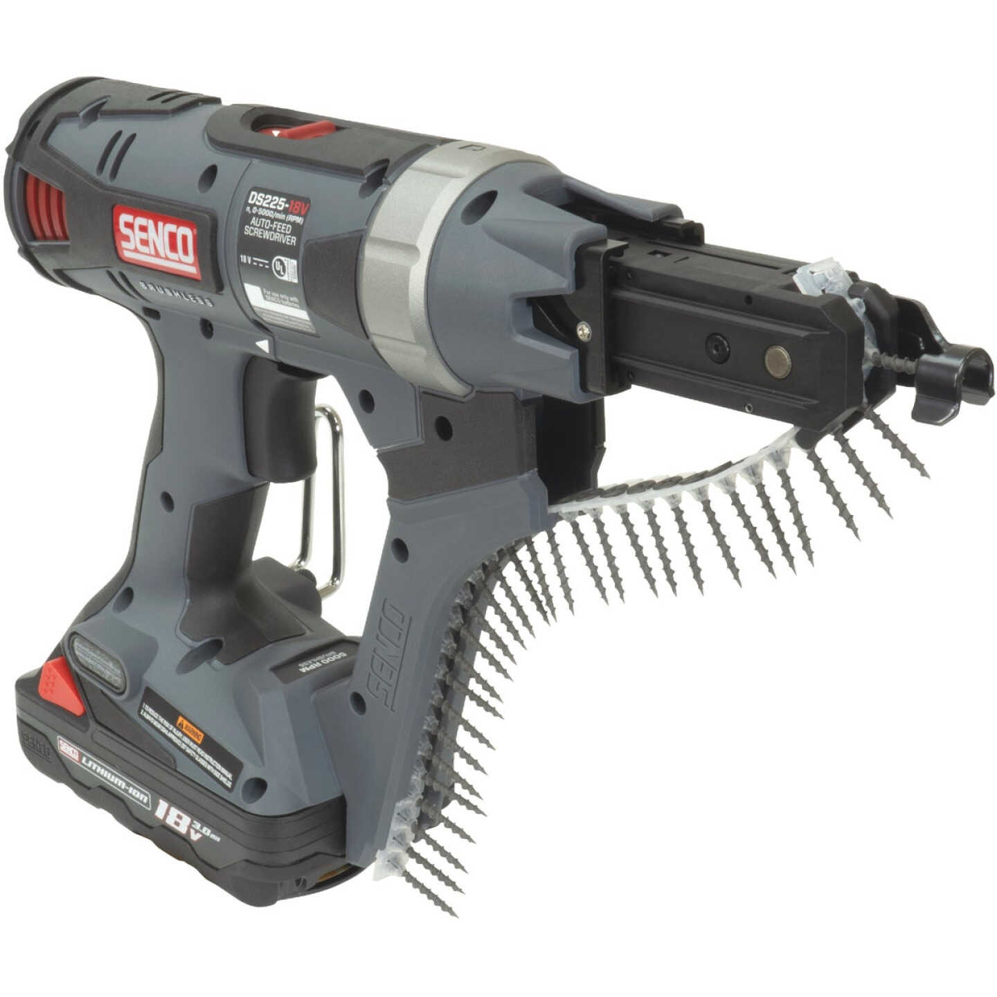 DuraSpin DS225 18 Volt 2 In. Lithium-Ion 5000 RPM Auto-Feed Cordless Screwdriver Image 2