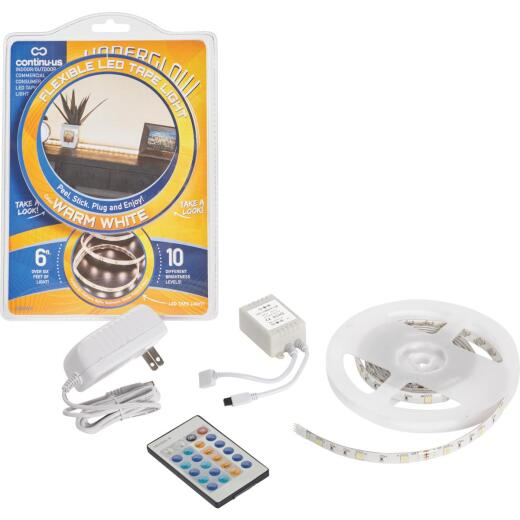 Continu-us Underglow 20 In. Plug-In Warm White LED Under Cabinet Light