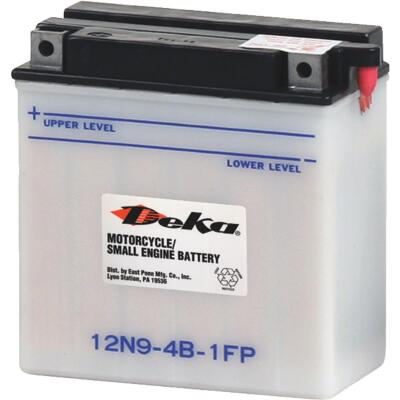 Deka 12-Volt 85 CCA Powersport Battery, Left Front Positive Terminal
