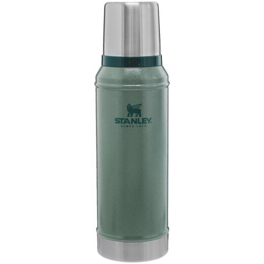 Stanley 1.1 Qt. Green Stainless Steel Insulated Vacuum Bottle