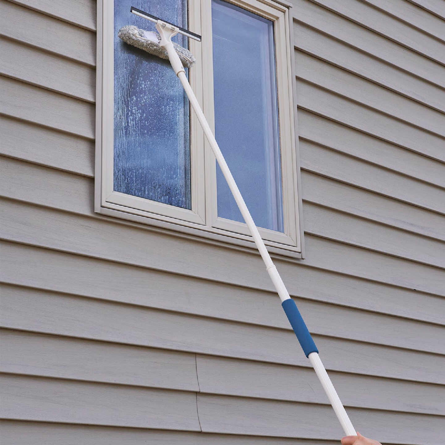 Unger 12 In. Outdoor Window Squeegee and Scrubber Kit Image 2